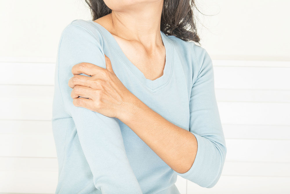 What is shoulder pain that radiates down the arm - Chris Bailey